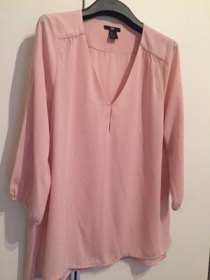 Bluse rosa gr 38 Dreiviertelärmel