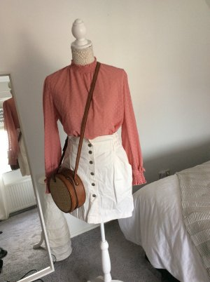 H&M Ruche blouse veelkleurig