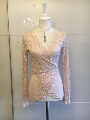Body by Victoria Blusa in merletto rosa pallido