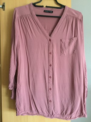 Blind Date Long Sleeve Blouse rose-gold-coloured-pink