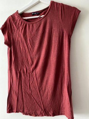 Blouse brillante rouge