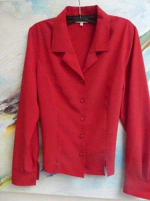 Barisal Blouse à manches longues rouge brique polyester