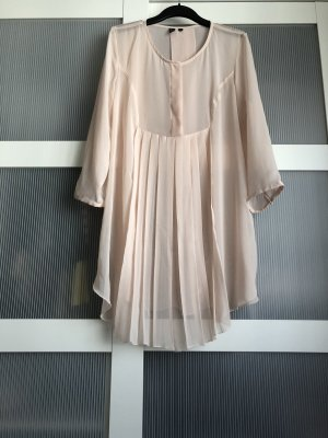 Bluse S rosa nude