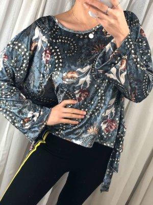 Made in Italy Oversized blouse veelkleurig