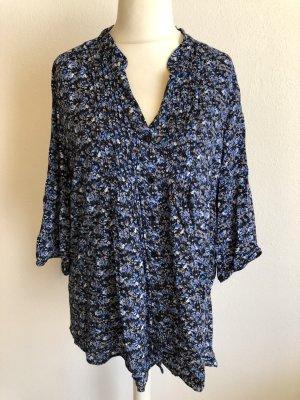 Bluse Schlupfbluse leicht gemustert Gr. XL