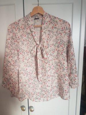 Bluse, schluppenbluse, Blumen, Gina Tricot