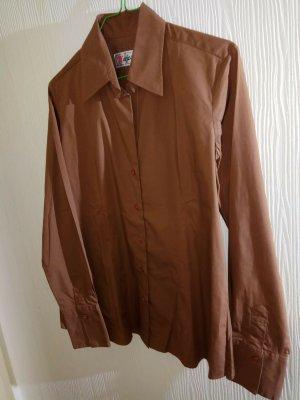 Majestic Shirt Blouse brown cotton