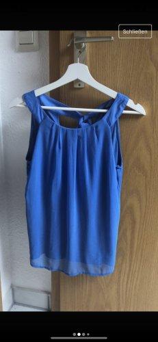 Bluse Schulterfrei im blau