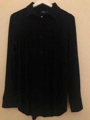 bpc bonprix collection Koszulowa bluzka czarny Wiskoza