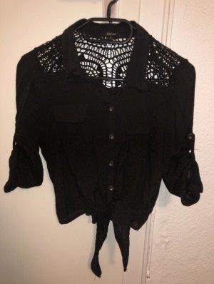 active Short Sleeved Blouse black