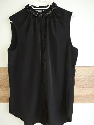 Bluse schwarz Gr. 46