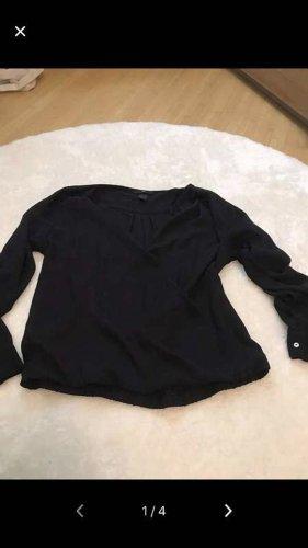 H&M Kreukelblouse zwart