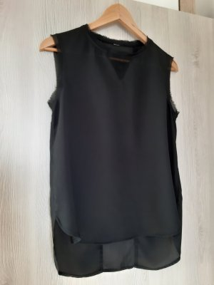 Bluse schwarz Shirtbluse Vila