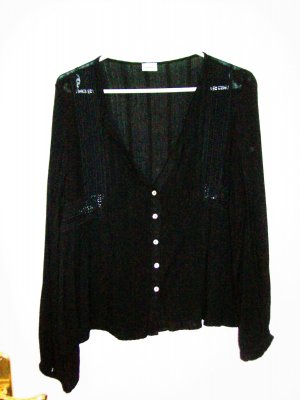Bluse schwarz von Pimkie