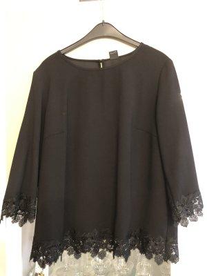 s.Oliver Black Label Kanten blouse zwart
