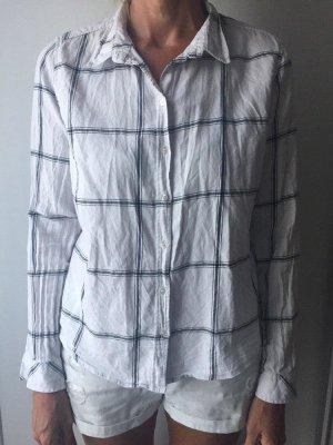 Bluse schwarz weiß