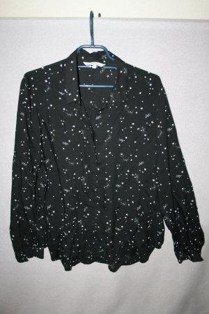 Bluse schwarz/weiß Gr. 44 von Ckh - neu