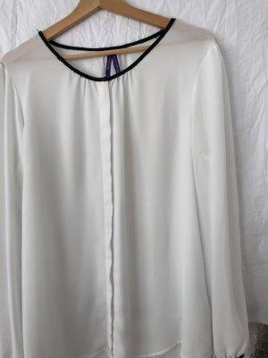 Bluse schwarz weiß Maternity