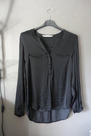 Bluse, schwarz, Zara, leicht glänzend, sehr schön!