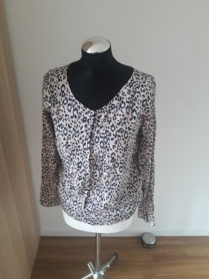 Second Female Long Sleeve Blouse black-pink
