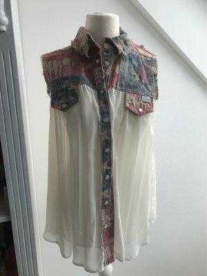 MET Camicia blusa bianco