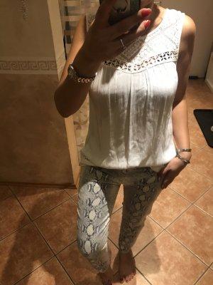 Soyaconcept Gehaakt shirt wit