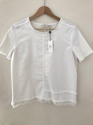AG Jeans Blusa denim bianco-bianco sporco Cotone