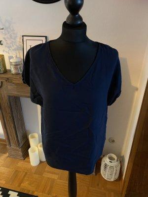 Bluse Shirt blau gr 36/38