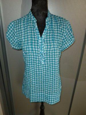 Bluse Shirt blau kariert Yessica