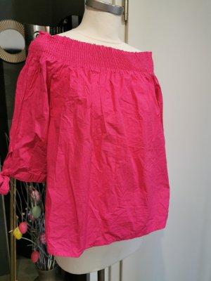 Bluse Shirt gr M von Pimkie schulterfrei