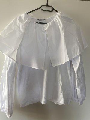 Bluse Shirt L Weiß