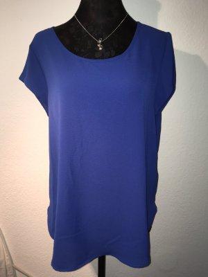 Bluse Shirt Oberteil blau von Only Größe 38 Tunika