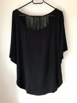 Bluse/Shirt, schwarz , Sisley