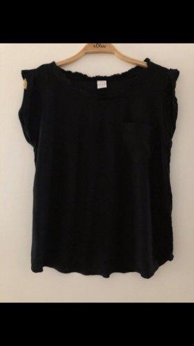 Bluse / Shirt VILA schwarz