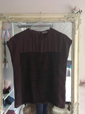 Bluse Shirt von Vero Moda in bordedaux Größe XS