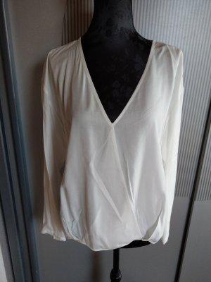 Bluse Shirt weiß Bershka