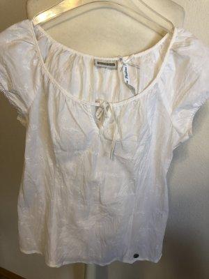Bluse Shirt weiß leicht Gr. 34