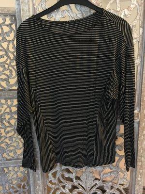 Bluse Sisley, Schwarz und Weiß