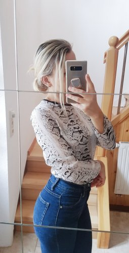 Bluse Snakeprint Blogger Seide Chiffon Trend Musthave