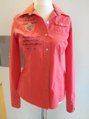 Soccx Camicia blusa rosso chiaro Cotone