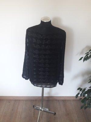bluse st. tropez schwarz gr. 38
