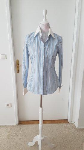 Bluse tailliert mit Manschetten