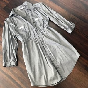 Tally Weijl Long Blouse silver-colored