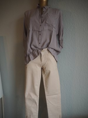 Bluse taupe, Gr. 36 Casual Look