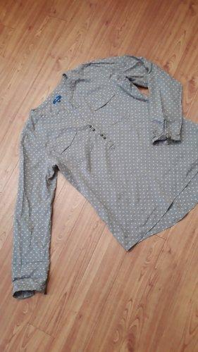Bluse Tom Tailor, Gr. 36, mit Herzen und Brusttaschen