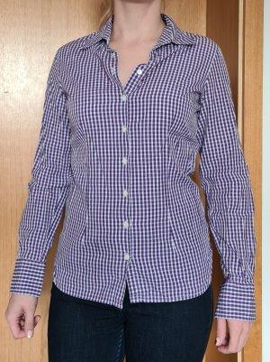 Tommy Hilfiger Blouse à manches longues blanc-violet foncé