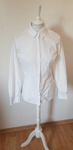 Tommy Hilfiger Blouse à manches longues blanc coton