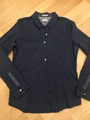 Bluse Tommy Hilfiger Gr. XL/42 blau