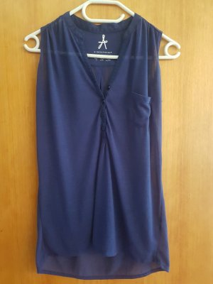 Bluse top Blau/Violett  Größe s/m Casual-Look
