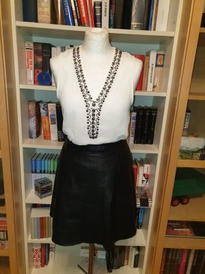 Bluse Top Shirt T-Shirt Hemd Only Gr. 36 S Tunika Shirt Long Transparent perlen